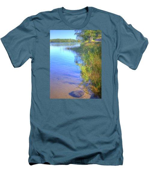 Eagle Point Men's T-Shirt (Slim Fit) by Larry Capra