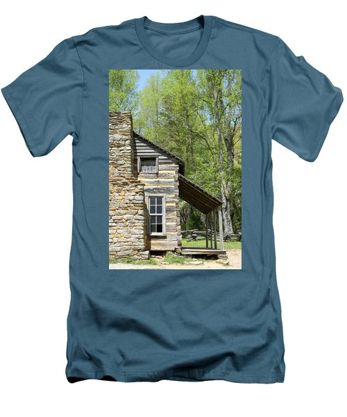 Early Appalachian Home Men's T-Shirt (Athletic Fit)