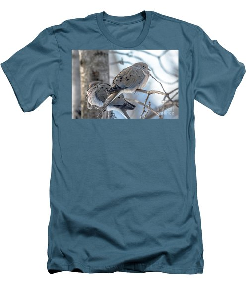 Early Mourning Men's T-Shirt (Slim Fit) by Cheryl Baxter