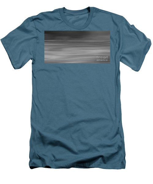 Abstract Earth Motion Slate  Men's T-Shirt (Athletic Fit)