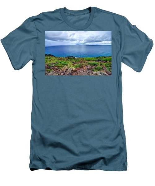 Earth Sea Sky Men's T-Shirt (Athletic Fit)
