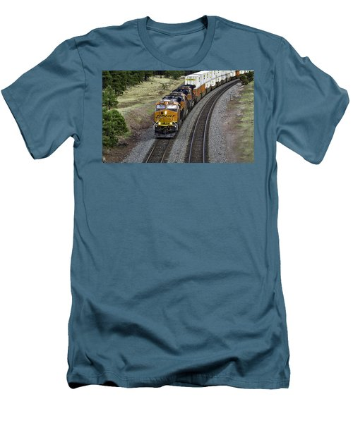 Eastbound Freight Men's T-Shirt (Athletic Fit)