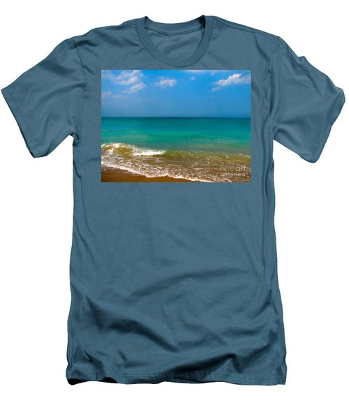 Eastern Shore 2 Men's T-Shirt (Slim Fit) by Anita Lewis