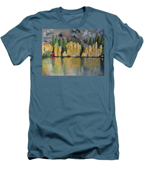 Eastern Sierra Reflections Men's T-Shirt (Athletic Fit)