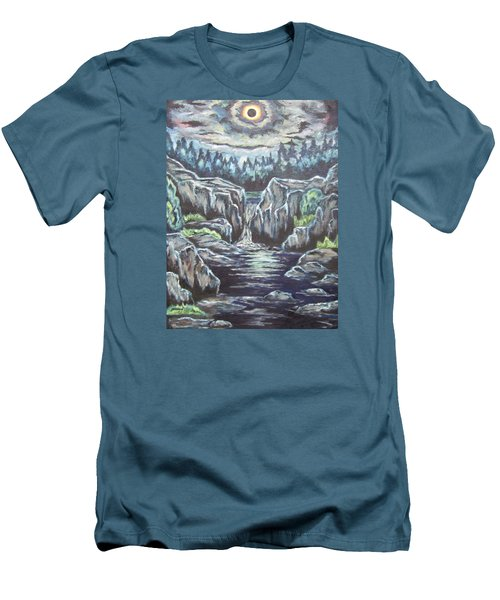 Eclipse 2 Men's T-Shirt (Slim Fit) by Cheryl Pettigrew