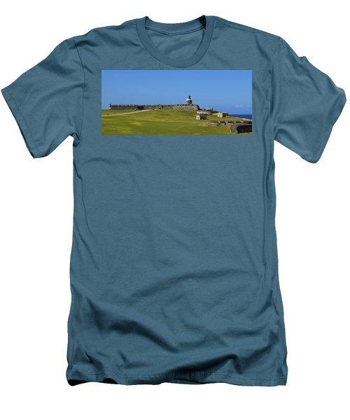 El Morro Panorama Men's T-Shirt (Athletic Fit)