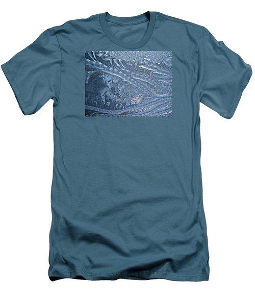 Men's T-Shirt (Slim Fit) featuring the photograph Elegant Blues by Joy Nichols
