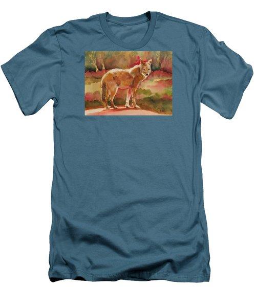 Elusive Visitor Men's T-Shirt (Athletic Fit)