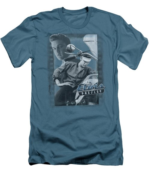 Elvis - Business Or Pleasure Men's T-Shirt (Slim Fit) by Brand A