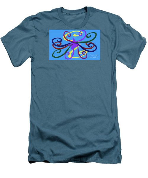 Men's T-Shirt (Slim Fit) featuring the photograph Embrace by Tina M Wenger