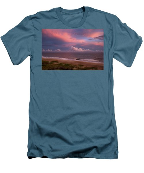 Emerald Isle Sunset Men's T-Shirt (Athletic Fit)