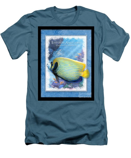 Emperor Angelfish Men's T-Shirt (Slim Fit)