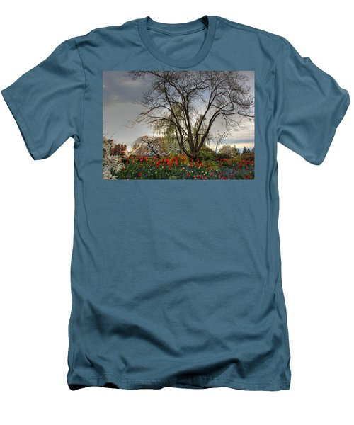 Men's T-Shirt (Slim Fit) featuring the photograph Enchanted Garden by Eti Reid