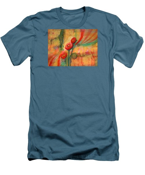 Enchantment Men's T-Shirt (Slim Fit) by Lynda Hoffman-Snodgrass