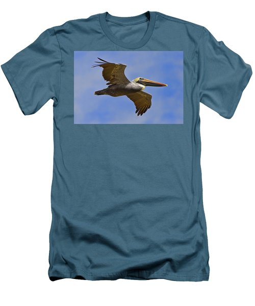 Men's T-Shirt (Slim Fit) featuring the photograph Endangered No More by Gary Holmes
