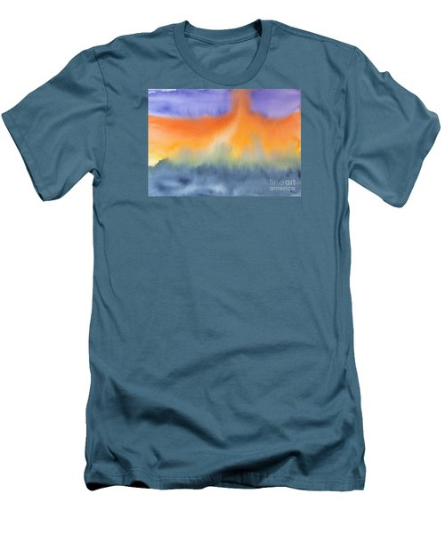 Men's T-Shirt (Slim Fit) featuring the photograph Energy Force by Susan  Dimitrakopoulos