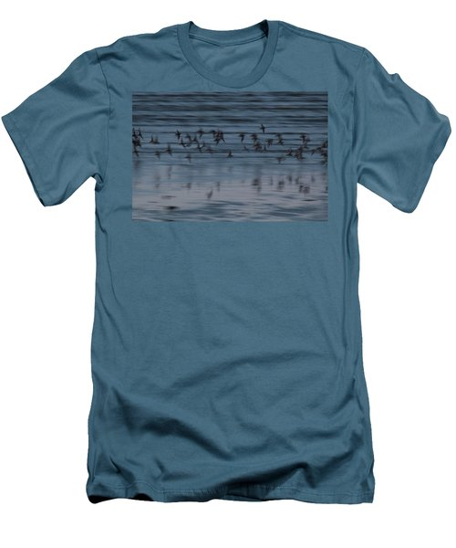 Men's T-Shirt (Slim Fit) featuring the photograph Evening Abstract by Alex Lapidus