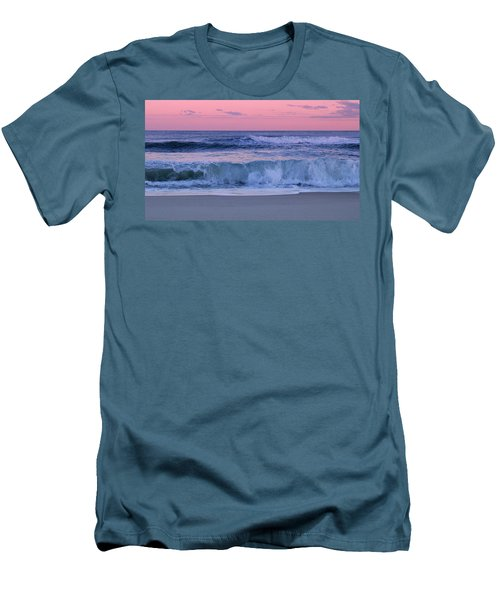 Evening Waves - Jersey Shore Men's T-Shirt (Athletic Fit)