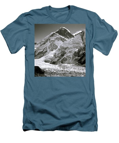 Everest Sunrise Men's T-Shirt (Slim Fit) by Shaun Higson