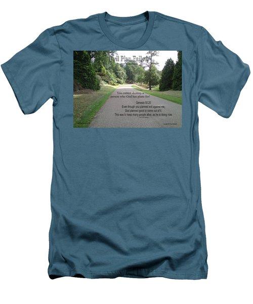 Evil Plan Failed Men's T-Shirt (Athletic Fit)