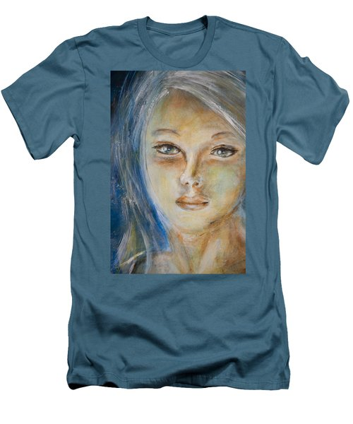 Face Of An Angel Men's T-Shirt (Athletic Fit)
