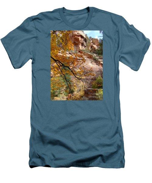 Fall Colors 6497 Men's T-Shirt (Slim Fit) by En-Chuen Soo