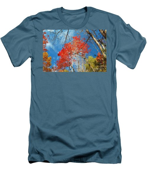 Men's T-Shirt (Slim Fit) featuring the photograph Fall Sky by Patrick Shupert