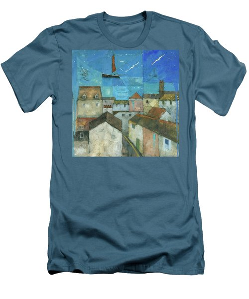 Falmouth Men's T-Shirt (Slim Fit) by Steve Mitchell