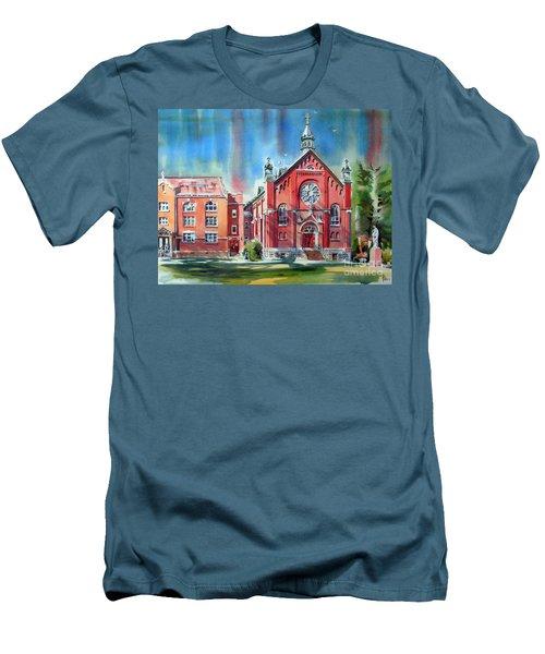 Feed The Birds IIi Men's T-Shirt (Slim Fit) by Kip DeVore