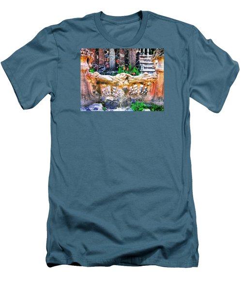 Fence Men's T-Shirt (Slim Fit) by Oleg Zavarzin