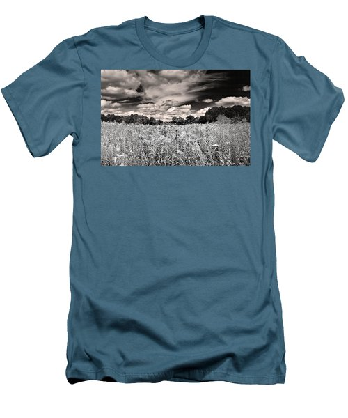 Fields Of Gold And Clouds Men's T-Shirt (Athletic Fit)