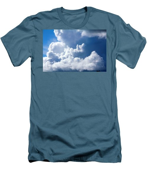 Men's T-Shirt (Slim Fit) featuring the photograph Find Teddy by Jeanette C Landstrom