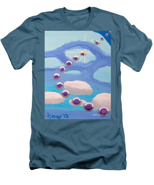 Men's T-Shirt (Athletic Fit) featuring the painting Finding Personal Peace by Rod Ismay