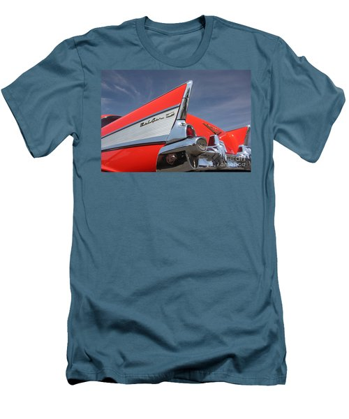 Fintastic '57 Chevy Men's T-Shirt (Athletic Fit)