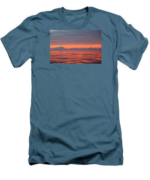 Fire In The Sky Men's T-Shirt (Slim Fit)