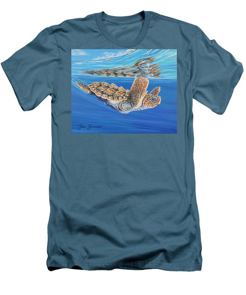 First Dive Men's T-Shirt (Athletic Fit)