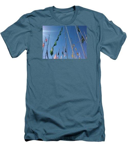 Flags Men's T-Shirt (Athletic Fit)
