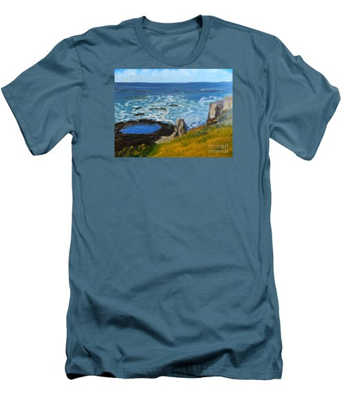 Flagstaff Point  Men's T-Shirt (Slim Fit)