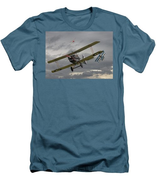 Flander's Skies Men's T-Shirt (Athletic Fit)