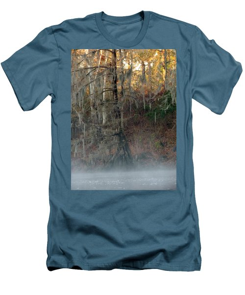 Men's T-Shirt (Slim Fit) featuring the photograph Flint River 15 by Kim Pate
