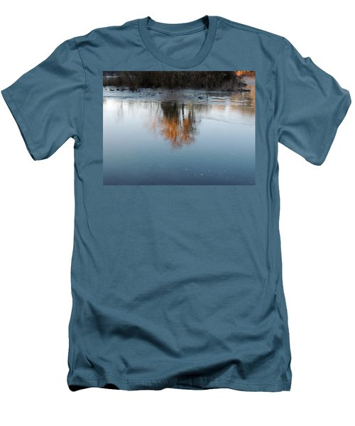 Men's T-Shirt (Slim Fit) featuring the photograph Flint River 21 by Kim Pate