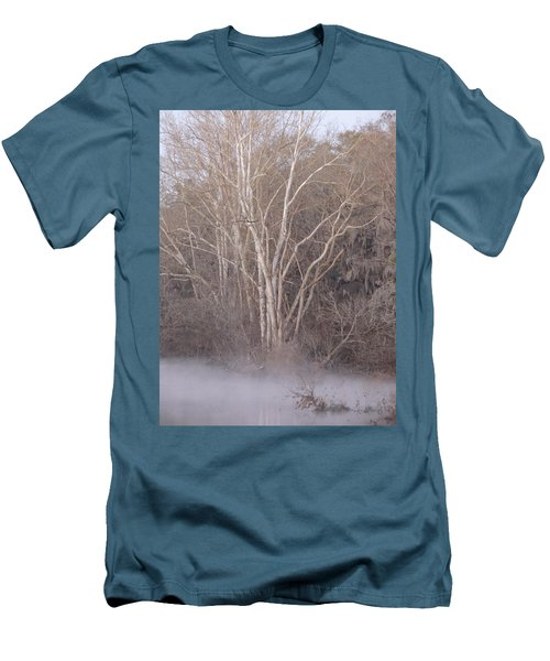 Men's T-Shirt (Slim Fit) featuring the photograph Flint River 9 by Kim Pate