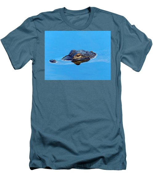 Floating Gator Eye Men's T-Shirt (Athletic Fit)