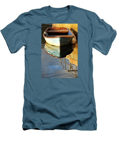 Floating On Blue 4 Men's T-Shirt (Athletic Fit)