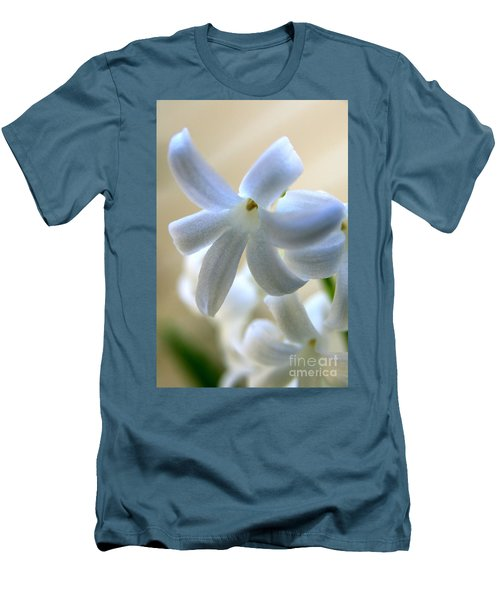 Floral Peace No.2 Men's T-Shirt (Slim Fit)