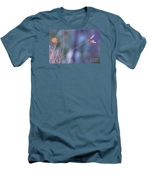 Flowering Moss Men's T-Shirt (Slim Fit) by Joy Hardee