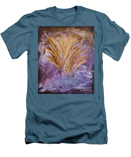 Flowering Nebula Men's T-Shirt (Athletic Fit)