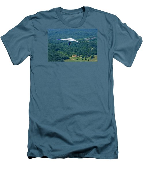 Men's T-Shirt (Slim Fit) featuring the photograph Flyin High by Susan  McMenamin
