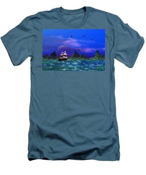 Men's T-Shirt (Slim Fit) featuring the photograph Flying Dutchman by Mark Blauhoefer