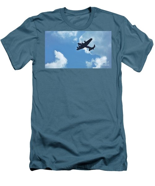 Men's T-Shirt (Slim Fit) featuring the photograph Flying High by John Williams